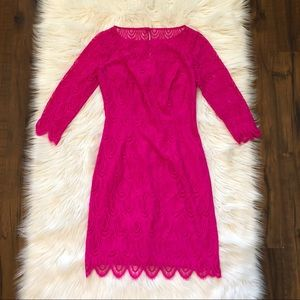 Lilly Pulitzer Hera Lace Sheath Dress Size 2